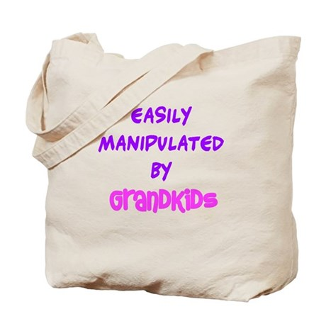 Easily manipulated by grandkids Tote Bag
