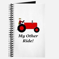 My Other Ride Red Journal