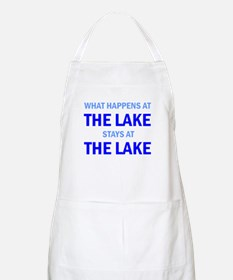 What happens at the lake stays at the lake Apron