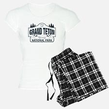 Grand Teton Blue Sign Pajamas