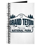 Grand Teton Blue Sign Journal