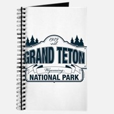 Grand Teton Blue Sign Journal