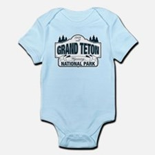 Grand Teton Blue Sign Infant Bodysuit