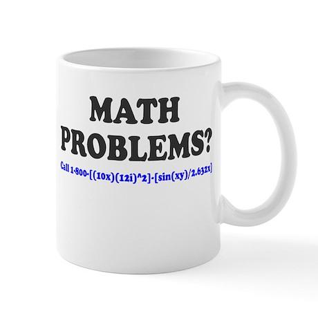 Math Problems? Call 1-800 Mug