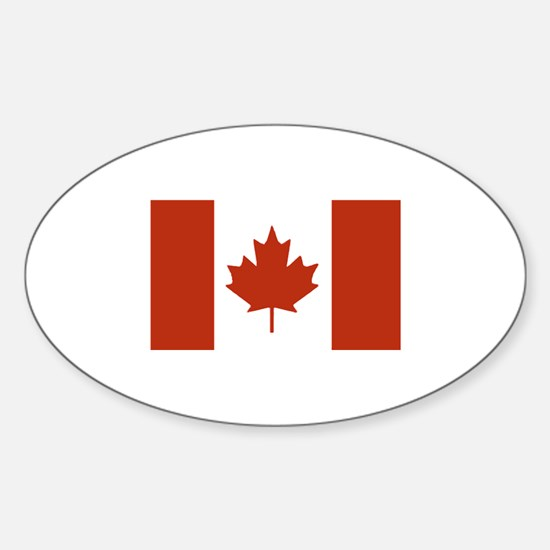 Canada Oval Decal