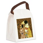 TheKiss-Golden (K) Canvas Lunch Bag