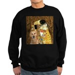 TheKiss-Golden (K) Sweatshirt (dark)