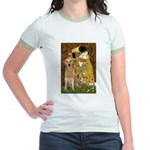TheKiss-Golden (K) Jr. Ringer T-Shirt