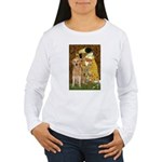 TheKiss-Golden (K) Women's Long Sleeve T-Shirt
