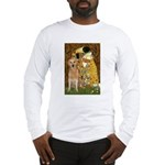 TheKiss-Golden (K) Long Sleeve T-Shirt