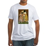 TheKiss-Golden (K) Fitted T-Shirt