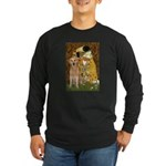 TheKiss-Golden (K) Long Sleeve Dark T-Shirt