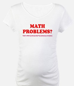 Math Problems? Call 1-800 Shirt