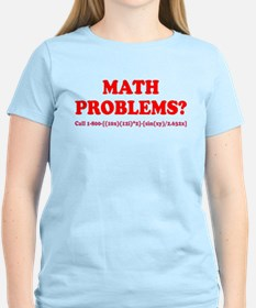 Math Problems? Call 1-800 T-Shirt