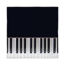 Piano Keys Design Queen Duvet