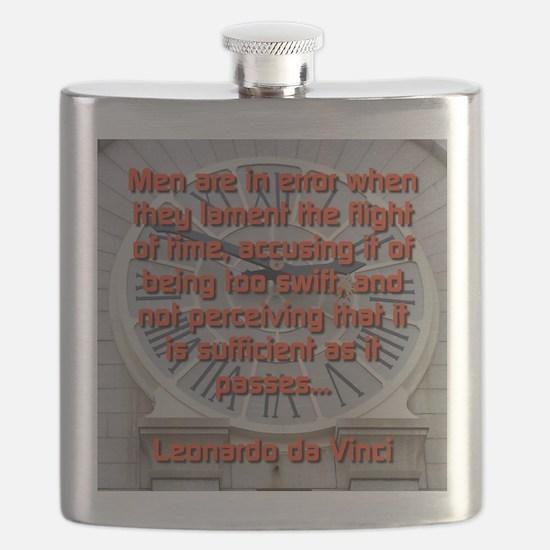 Men Are In Error - Leonardo da Vinci Flask