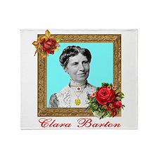 Clara Barton - Nurse Throw Blanket