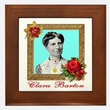 Clara Barton - Nurse Framed Tile
