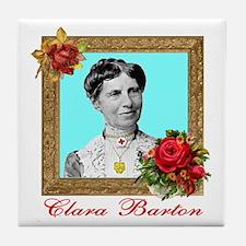 Clara Barton - Nurse Tile Coaster