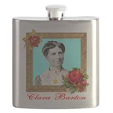 Clara Barton - Nurse Flask