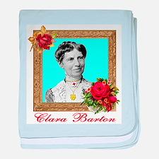 Clara Barton - Nurse baby blanket
