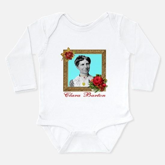 Clara Barton - Nurse Long Sleeve Infant Bodysuit
