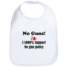 No Guns Bib