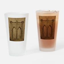 Brooklyn Bridge Drinking Glass