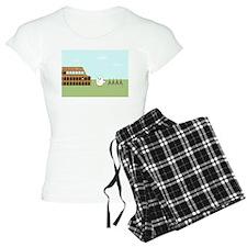 Vendor in Rome Pajamas