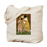 TheKiss-Golden (K) Tote Bag