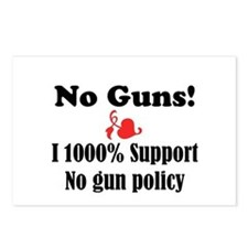 No Guns Postcards (Package of 8)