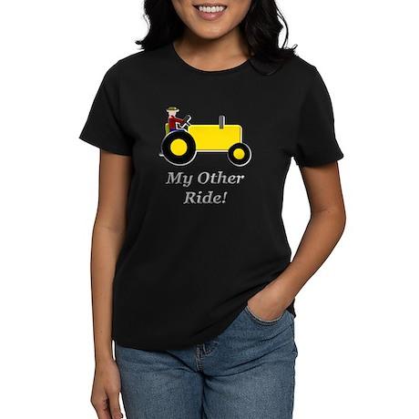 My Other Ride Yellow Women's Dark T-Shirt