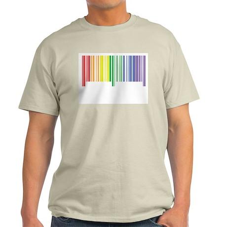 Pride Barcode Ash Grey T-Shirt