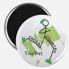 Customize Cute Cross Country Magnet