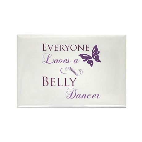Belly Dancer Rectangle Magnet (10 pack)