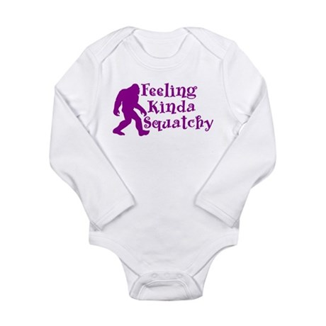 Feeling Kinda Squatchy Long Sleeve Infant Bodysuit