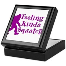 Feeling Kinda Squatchy Keepsake Box