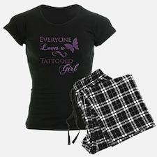 Tattooed Girl Pajamas