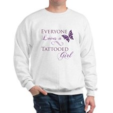 Tattooed Girl Sweatshirt