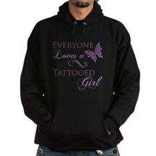 Tattooed Girl Hoodie