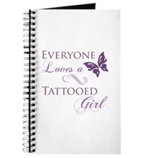 Tattooed Girl Journal