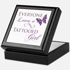 Tattooed Girl Keepsake Box