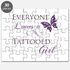 Tattooed Girl Puzzle