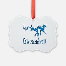LAKE NACIMIENTO [4 blue] Ornament