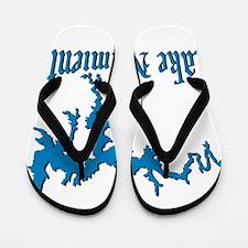 LAKE NACIMIENTO [4 blue] Flip Flops