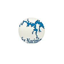 LAKE NACIMIENTO [4 blue] Mini Button