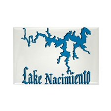 LAKE NACIMIENTO [4 blue] Rectangle Magnet (10 pack