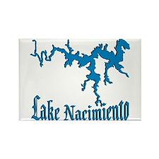 LAKE NACIMIENTO [4 blue] Rectangle Magnet