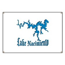 LAKE NACIMIENTO [4 blue] Banner