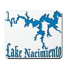 LAKE NACIMIENTO [4 blue] Mousepad